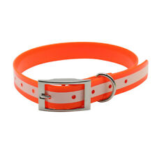 TPU+Nylon Pet Dog Collar Night Glowing Night Safety Collars Waterproof Collar