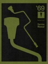 PONTIAC 1969 GTO/Bonneville/Firebird Shop Manual 69