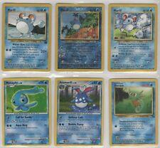 MARILL Pokemon Card LOT 1 VG to PL, Azurill AZUMARILL Pikachu Pokeman Poke'Mon