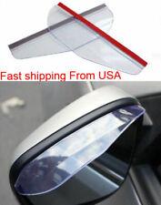 Clear Rear View Side Mirror Visor Sun Visor Shade Rain Water Car Truck SUV