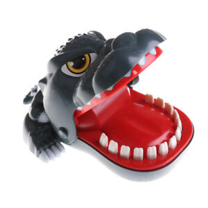 Dinosaur Mouth Dentist Bite Finger Game Funny Toy for Baby Kids GiftS Gq
