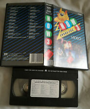 NOW THAT'S WHAT I CALL MUSIC 3 VHS Small Box