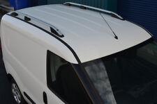 Aluminium Côté Rails de Toit Barres Set pour Swb Fiat Doblo (2010