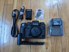Fujifilm X series X-T2 24.0Mp Digital Slr Camera - Black (Body and grip) Used