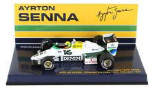 Minichamps Williams FW08C Donington Park Test 1983 - Ayrton Senna 1/43 Scale
