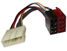 Adaptateur faisceau câble fiche ISO autoradio pour Subaru Forester Impreza Justy