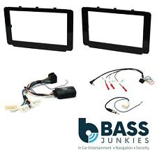 Toyota Hilux Car Stereo Double Din Fascia Steering Wheel Interface Kit CTKTY18