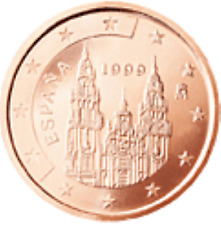 Spanje    2007     1 en 2 cent      UNC uit de rollen !!!