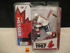 Mark Messier Team Canada 1987 Hockey Action Figure NEW 2005 McFarlane Toys
