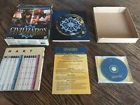 Civilization Call To Power Windows 95 98 NT CD ROM Big Box Game PC2