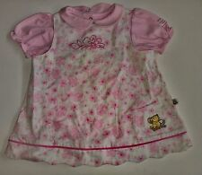 Classic Pooh Disney Store Baby Girl Dress Pink With Flowers Size 6-9 Months NWT