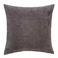 "IKEA Gullklocka Throw Pillow Cushion Cover - NEW  20"" x 20"" Gray New"