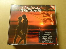 4 CD BOX / THE MUSIC OF MANTOVANI AND HIS ORCHESTRA