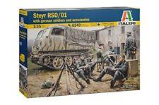 Steyr Rs0/01 avec soldats allemands et accessoires - WWII - ITALERI 6549