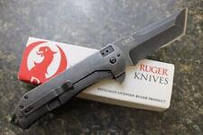 Couteau CRKT RUGER Carter 2-Stage Tanto Lame Acier 8Cr13MoV Manche Alum RUG2102K