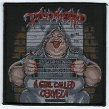 Parche bordado, borded patch, rock , metal - Tankard, A girl ...trash, death