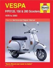 Vespa P/Px 125, 150 & 200 Scooters 1978-2003 (Haynes Manuals)-ExLibrary