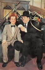 BUENA PARK CA MOVIELAND WAX MUSEUM LAUREL & HARDY PERFECT DAY POSTCARD c1960s