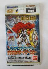 digimon japanese booster Jump Festa Limited promo Dukemon Wargreymon card