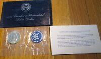 1971 S Eisenhower Dollar UNC 40 % Silver US Mint 1971 Ike Blue Envelope Silver $