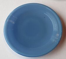 Akro Agate Small Concentric Ring / Stacked Disc Glass Blue Plate ~ 8 Available