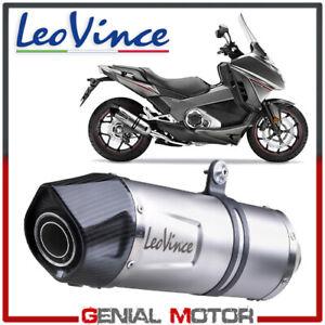 Leovince Terminale Scarico Lv One Evo Acciaio Honda Integra 750/Dct/Abs 2016 16