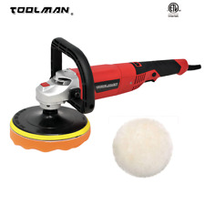 "7"" 10A  7 Variable Speed 3500 RPM Electric Polisher Buffer Sander Toolman"