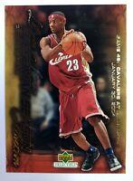 2003-04 Upper Deck Freshman Season Collection Lebron James Rookie RC #45, CAVS