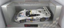 PORSCHE 911 GT1 evo #7 Wollek Dalmas AG WARSTEINER FIA GT 1997 UT 1:18