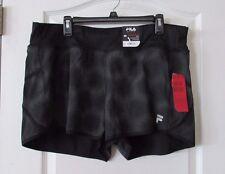 FILA SPORT® Reflective Printed Running Shorts HALO Women's Sz XL NWT MSRP$30