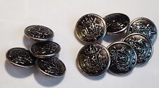 MENS COAT SUIT DRESS BUTTONS SET OF 10 ELSEN N28 USA COAT OF ARMS LION MATCHING
