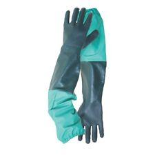 Full Arm Length Drain Gloves Pond Waterproof Medium Garden
