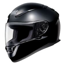 SHOEI RF-1100 FULL FACE MOTORCYCLE HELMET SOLID BLACK XXXLARGE 3XL 0113-0105-09