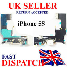 Replacement Dock Port Flex Charging iPhone 5S 821-1667-A Headphone Jack  WHITE