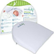 Universal Bassinet Wedge and Pregnancy Wedge Pillow | Dual Layer