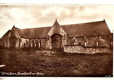 CD93. Vintage Postcard.   Tithe Barn, Bradford on Avon