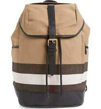 AUTHENTIC BURBERRY 3955398 Drifton House Men's Backpack, Camel/Brown- NEW!