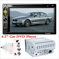 """6.2"""" Double Din Car  In-Dash Radio Stereo MP5 DVD Player FM AUX USB TF Bluetooth"""