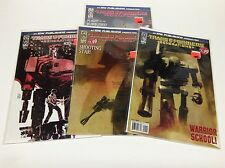 TRANFORMERS GENERATIONS #1-4 (IDW/ASHLEY WOOD COVERS/021668) COMPLETE SET OF 4