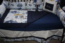 5 piece starwars Baby bedding set-free personalized pillow