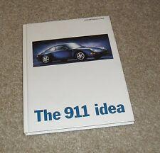 Porsche 911 993 Hardback Brochure 1995 Carrera 4S 4 Targa Cabriolet Turbo - Idea