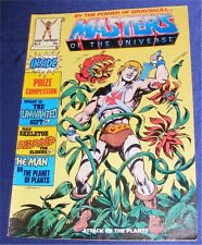 MOTU HE-MAN BY THE POWER OF COMIC MAGAZINE Nr. 9 1986 MASTERS OF THE UNIVERSE