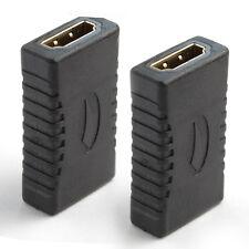 4K Premium GOLD Series HDMI Female/Female Extension Coupler Adapter, 2 Packs