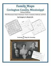 Family Maps of Covington County, Mississippi, Deluxe Edition : With Homesteads,