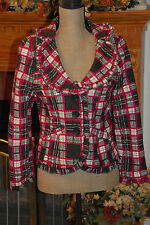 FABULOUS BODY CENTRAL TWILL JACKET~SZ M~JUNIORS~GREAT COLORS~WORN ONCE~EXCELLENT