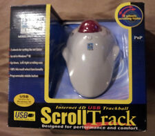 NEW Genuine  Internet Scroll Track 4D Mouse