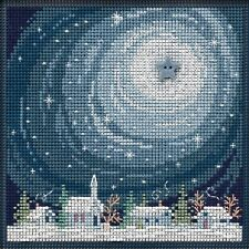 Winter Glow Cross Stitch Kit Mill Hill 2019 Buttons Beads Winter Mh141933