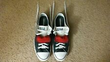 Size 11 - Converse  All Star Black Tennis Shoes Minimal Wear Great Condition.