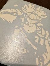 "Dragonball Z Trunks Custom Car Decal Sticker 5"" x 5"""