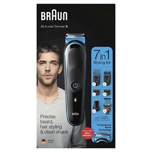 Braun 7 in 1 Face/Body Trimming Kit - Black (MGK3245)